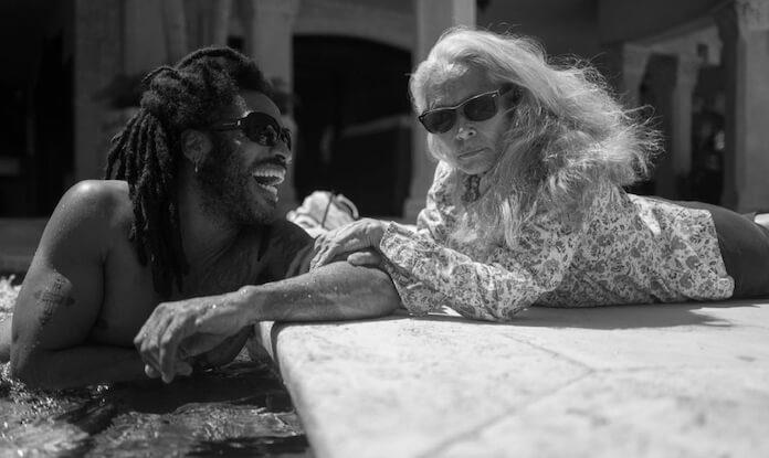 Lenny Kravitz e Sonia Braga