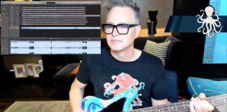 Mark Hoppus tocando blink-182 na Twitch