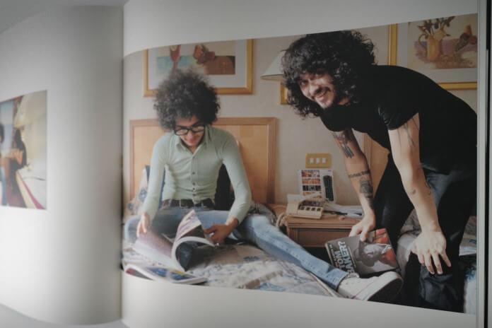 Foto rara de Omar Rodriguez Lopez em caixa do Mars Volta
