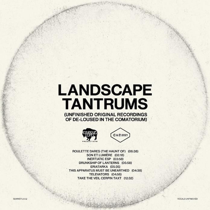"""The Mars Volta - """"Landscape Tantrums"""""""