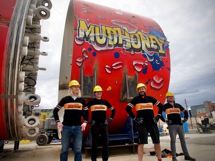 mudhoney máquina de perfuração seattle