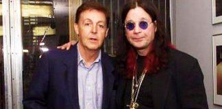 Paul McCartney e Ozzy Osbourne