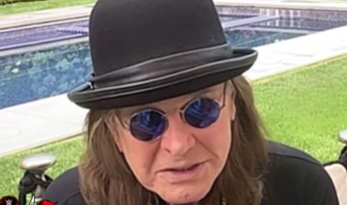 Ozzy Osbourne no Hall da Fama do WWE
