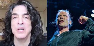 """Paul Stanley (Kiss) diz que é """"insanidade"""" a ausência do Iron Maiden no Hall da Fama do Rock"""