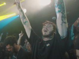 Post Malone tocando My Chemical Romance na Emo Nite