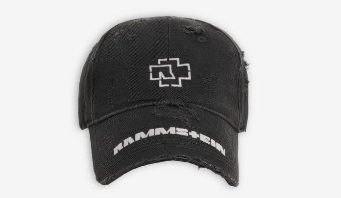 Boné do Rammstein com a Balenciaga