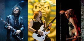 Tony Iommi, Adrian Smith e Lady Gaga