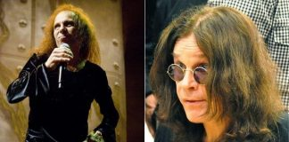 Dio e Ozzy, do Black Sabbath