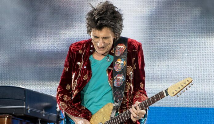 Ronnie Wood, guitarrista do The Rolling Stones