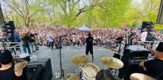 Show de hardcore reúne mais de 2000 pessoas em parque de Nova York