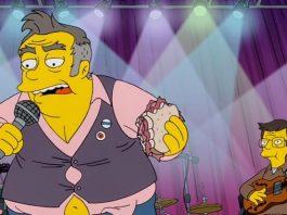 Morrissey em episódio de Os Simpsons