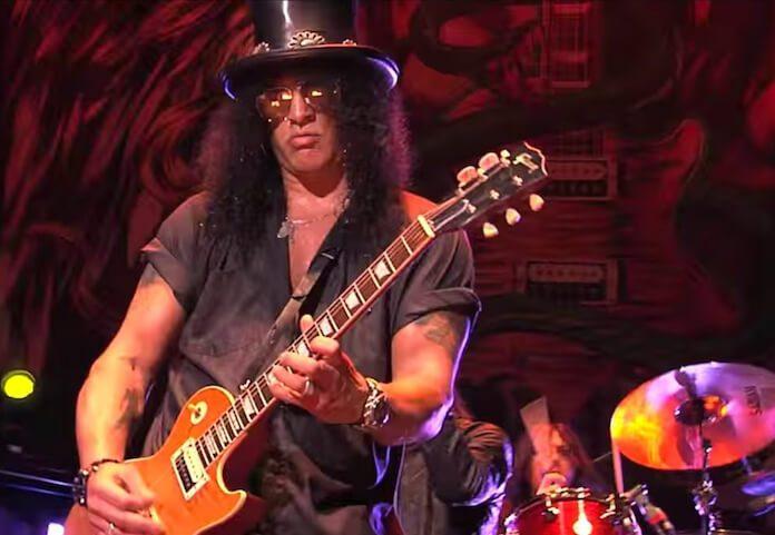 Slash em show na Austrália