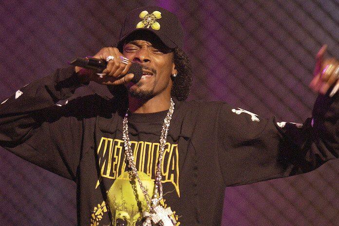 Snoop Dogg cantando Metallica