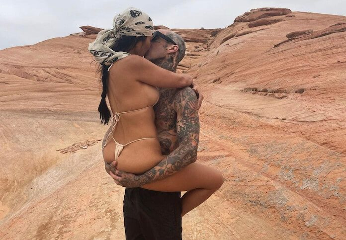 Travis Barker e Kourtney Kardashian