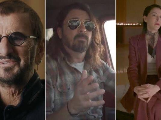 """Ringo Starr, Dave Grohl e St. Vincent em trailer de """"What Drives Us"""""""
