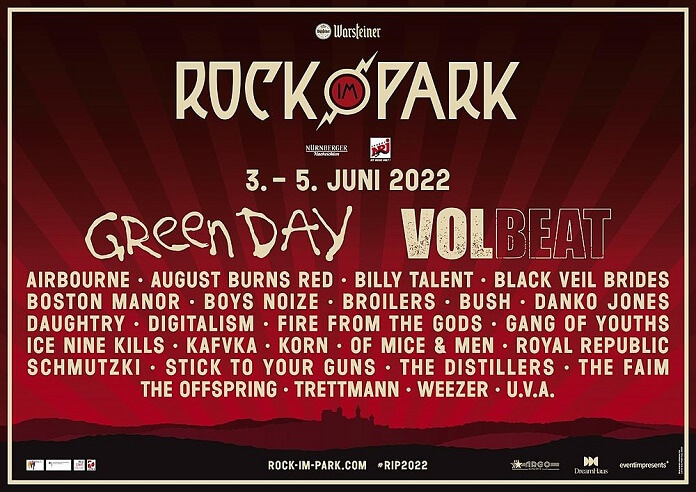 Line-up Rock im Park 2022