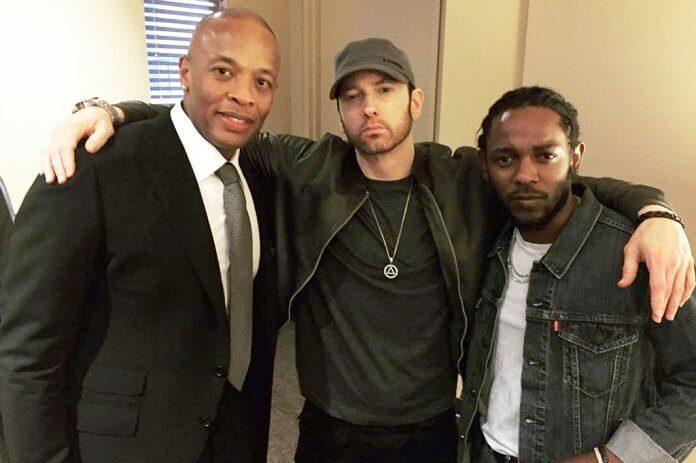 Parceria entre Dr Dre, Eminem e Kendric