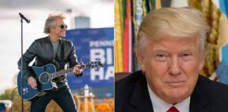 Jon Bon Jovi e Donald Trump