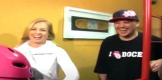 Chorão, do Charlie Brown Jr., no programa Estrelas em 2007