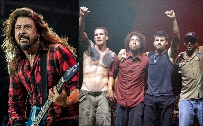 Foo Fighters e RATM serão headliners de festival em Boston