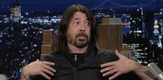 Dave Grohl no Tonight Show