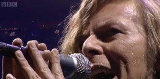 David Bowie no festival de Glastonbury