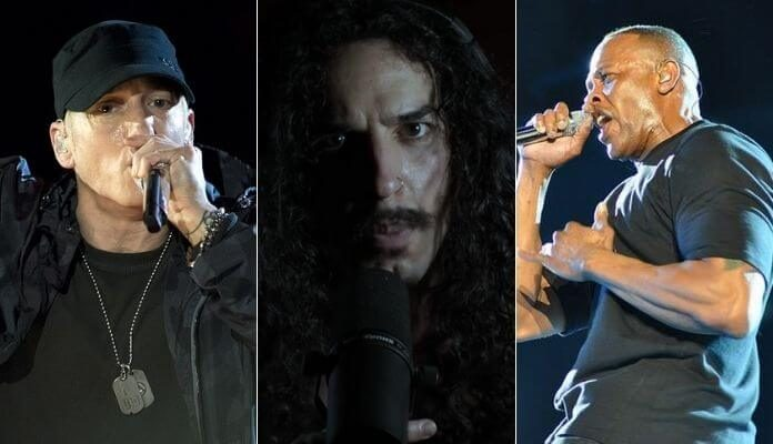 Anthony Vincent canta hit de Dr. Dre e Eminem
