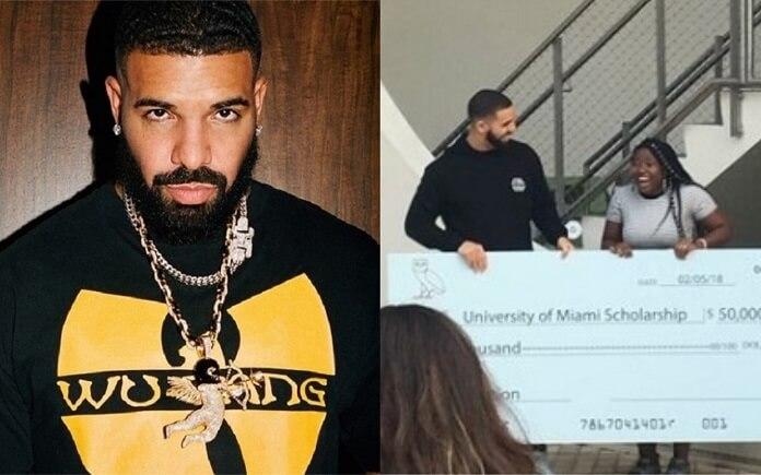 Garota que recebeu 50 mil dólares em clipe de Drake está se formando