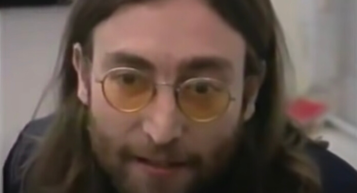 John Lennon bravo em entrevista