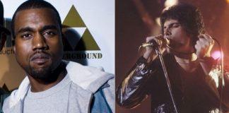 Kanye West e Freddie Mercury