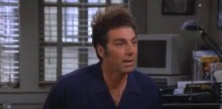 """Roteirista de """"Seinfeld"""" acredita que Kramer seria um apoiador da QAnon hoje em dia"""
