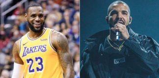 LeBron James e Drake