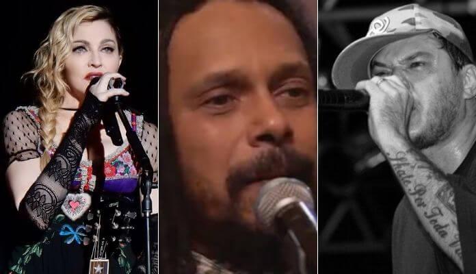 Madonna, Marcelo Falcão e Chorão