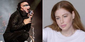 Marilyn Manson e Ashley Morgan Smithline