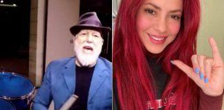 Mike Terrana e Shakira