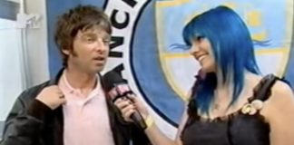 Noel Gallagher, do Oasis, falando com MariMoon