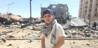 Rapper de 12 anos de idade rimando sobre a violência em Gaza com batida de Eminem viraliza