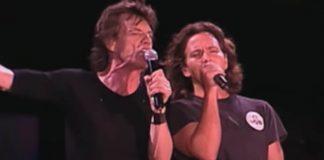 Rolling Stones e Eddie Vedder
