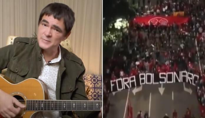 Samuel Rosa e manifestações contra Bolsonaro