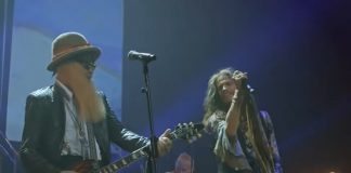 Steven Tyler canta clássico do Fleetwood Mac com ZZ Top