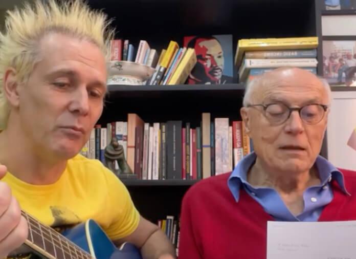 Supla e Eduardo Suplicy homenageiam Bob Dylan