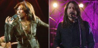 Tina Turner e Dave Grohl