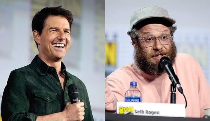 Tom Cruise e Seth Rogen