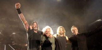 Foo Fighters e Led Zeppelin, Jimmy Page