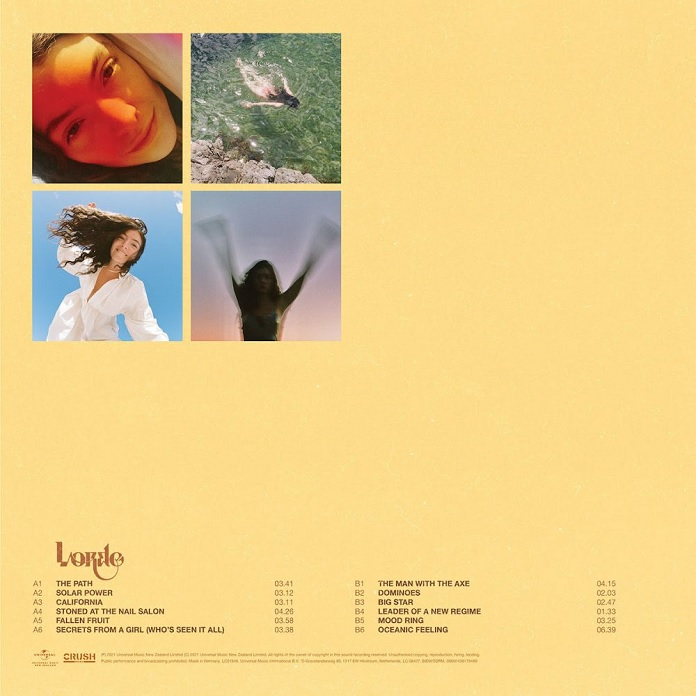 Lorde - Solar Power 2