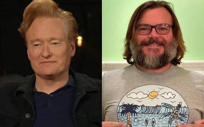 Jack Black será o último convidado do talk show de Conan O'Brien