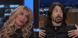 Courtney Love e Dave Grohl