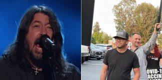 Dave Grohl e Ricky Schroder