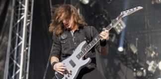 David Ellefson com o Megadeth em 2012