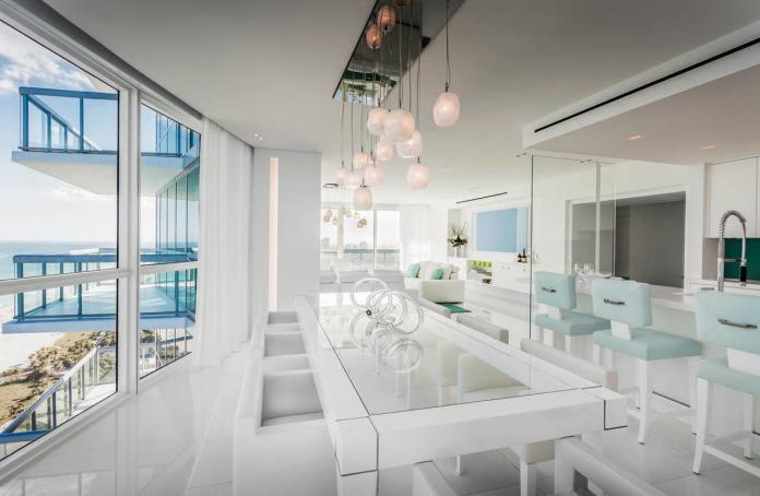 Apartamento de David Guetta em Miami